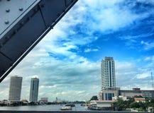 Ansicht vom Chao Phraya Fluss Stockfoto