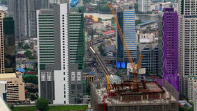 Ansicht vom Chao Phraya Fluss Stockfotografie