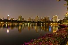Ansicht vom Chao Phraya Fluss Lizenzfreies Stockbild
