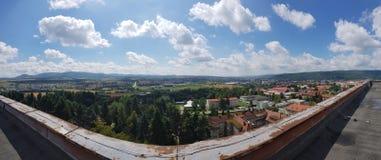 Ansicht vom Dach Lizenzfreie Stockbilder