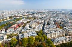 Ansicht vom Eiffelturm Lizenzfreies Stockbild