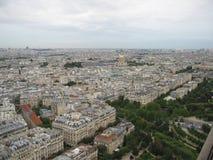Ansicht vom Eiffelturm Stockfoto