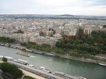 Ansicht vom Eiffelturm Lizenzfreies Stockfoto