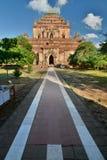 Ansicht vom Eingangstor Sulamani Tempel Bagan myanmar Stockbild