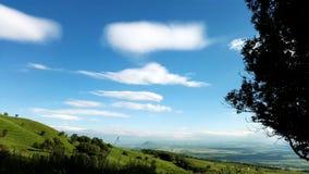 Ansicht vom einsamen Berg Stockfoto