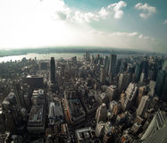 Ansicht vom Empire State Building Stockfotografie
