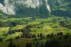 Ansicht vom ERSTEN Berg stockfoto
