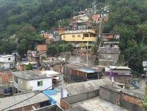 Ansicht vom favela lizenzfreies stockfoto