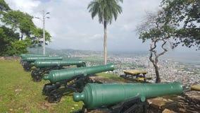 Ansicht vom Fort George Stockbilder