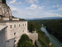 Ansicht vom französischen Fort Lizenzfreie Stockbilder