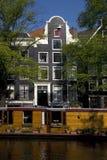Ansicht vom geheimen Anhang (Anne Frank) stockfotografie