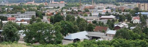 Ansicht vom Hügel Lizenzfreies Stockfoto