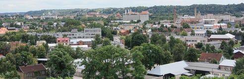 Ansicht vom Hügel Stockfotografie