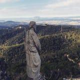 Ansicht vom Hügel Stockfotos