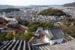 Ansicht vom Himeji-Schloss, Stockfotografie
