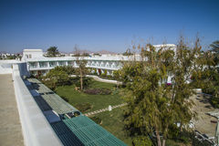 Ansicht vom Hoteldach Lizenzfreie Stockfotografie
