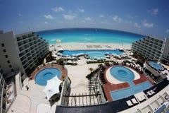Ansicht vom Hotelzimmer Lizenzfreie Stockfotografie