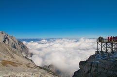Ansicht vom Jade-Drache-Berg Stockbild
