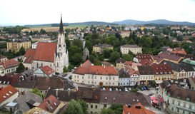 Ansicht vom Kloster Melk stockfotos