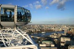 Ansicht vom London-Auge Stockfoto