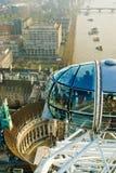 Ansicht vom London-Auge, London Lizenzfreie Stockbilder