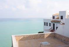 Ansicht vom Mittelmeer Lizenzfreie Stockfotos
