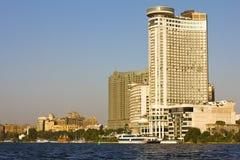 Ansicht vom Nil-Fluss Stockfotos