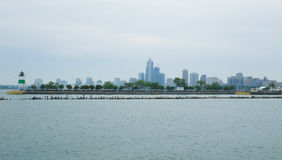 Ansicht vom Nordalleen-Strand Lizenzfreie Stockfotos