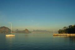 Ansicht vom Ozean Lizenzfreie Stockfotografie