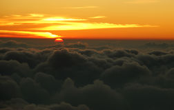 Ansicht vom Pacaya Vulkan Stockfotografie