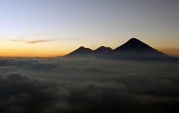 Ansicht vom Pacaya Vulkan Lizenzfreie Stockfotografie
