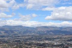 Ansicht vom Panecillo nach Quito Lizenzfreie Stockfotografie