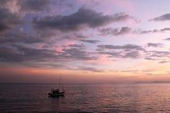 Ansicht vom Pier in Thailand stockfotos