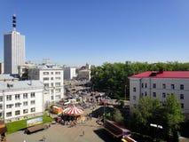 Ansicht vom Riesenrad Stockbild
