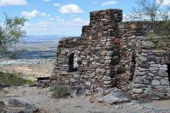 Ansicht vom Südberg in Arizona Stockfotos
