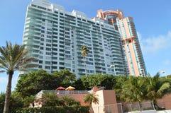 Ansicht vom Südpunkt-Antrieb, Miami Beach, Florida Lizenzfreie Stockbilder