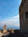 Ansicht vom Schloss St Elmo Stockfotos