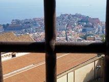 Ansicht vom Schloss St Elmo Lizenzfreies Stockfoto