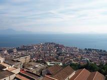 Ansicht vom Schloss St Elmo Stockfoto