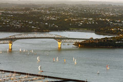 Ansicht vom skytower, Neuseeland Lizenzfreies Stockbild