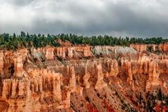 Ansicht vom Standpunkt von Bryce Canyon. Utah. USA lizenzfreie stockfotos