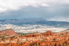 Ansicht vom Standpunkt von Bryce Canyon. Utah. USA stockbild