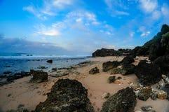 Ansicht vom Strand Lizenzfreie Stockbilder