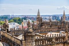 Ansicht vom Turm Giralda Stockfoto