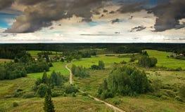 Ansicht vom Turm, Litauen 3 Stockfotos