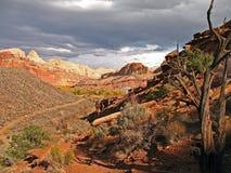 Wandern von Utah Lizenzfreies Stockbild