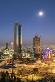 Ansicht von Abdali-Bereich in Amman Stockbilder