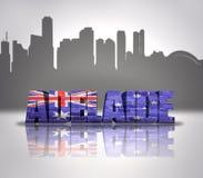 Ansicht von Adelaide Lizenzfreies Stockfoto