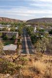 Ansicht von Alice Springs stockfoto