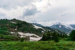 Ansicht von Altai Lizenzfreie Stockfotografie